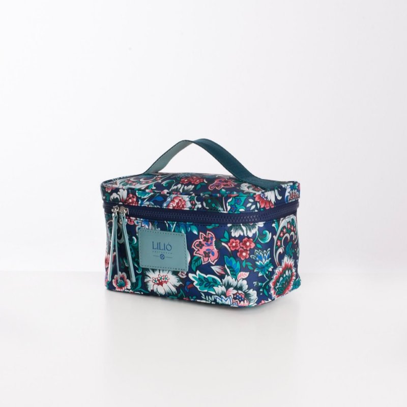 LiLiÓ Smart Flowers M Beauty Case cestovní necesér 22 cm Pine Wood