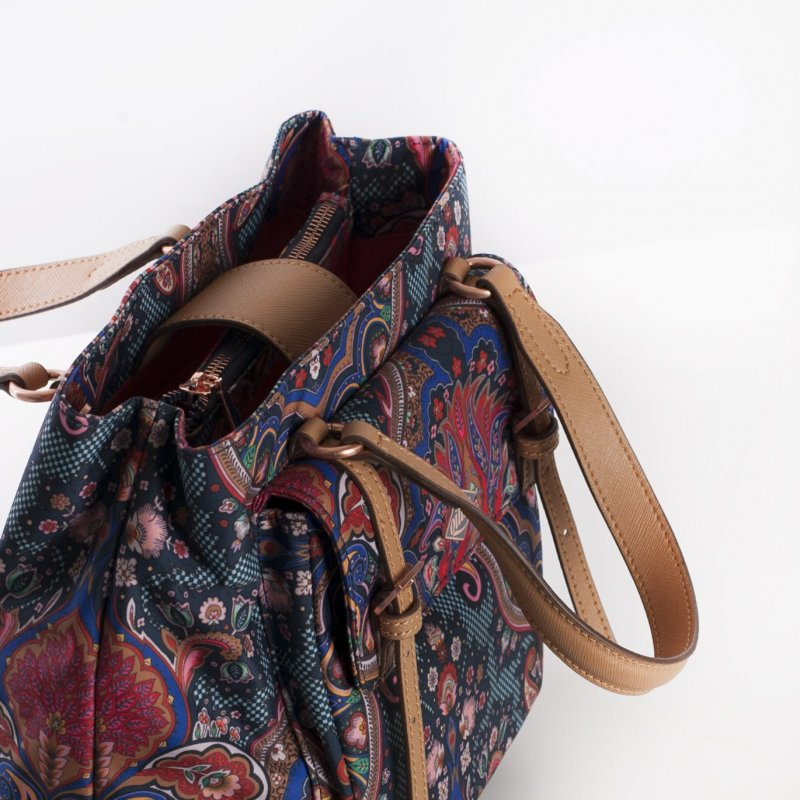 Oilily City Handbag Paisley dámská kabelka 24 cm Royal Blue