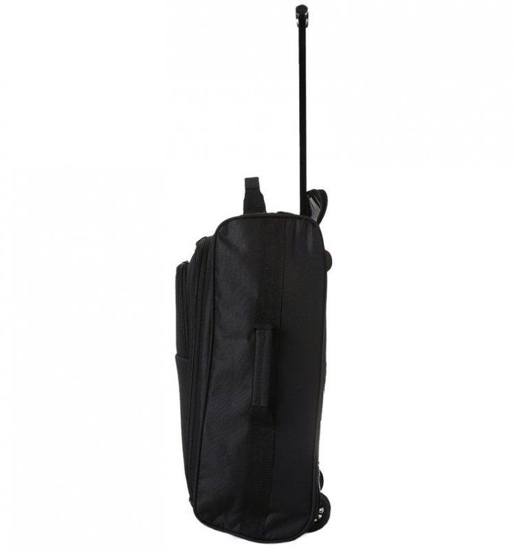 5 Cities T-830 S palubní kufr na 2 kolečkách 55 cm 1,65 kg černá/červená