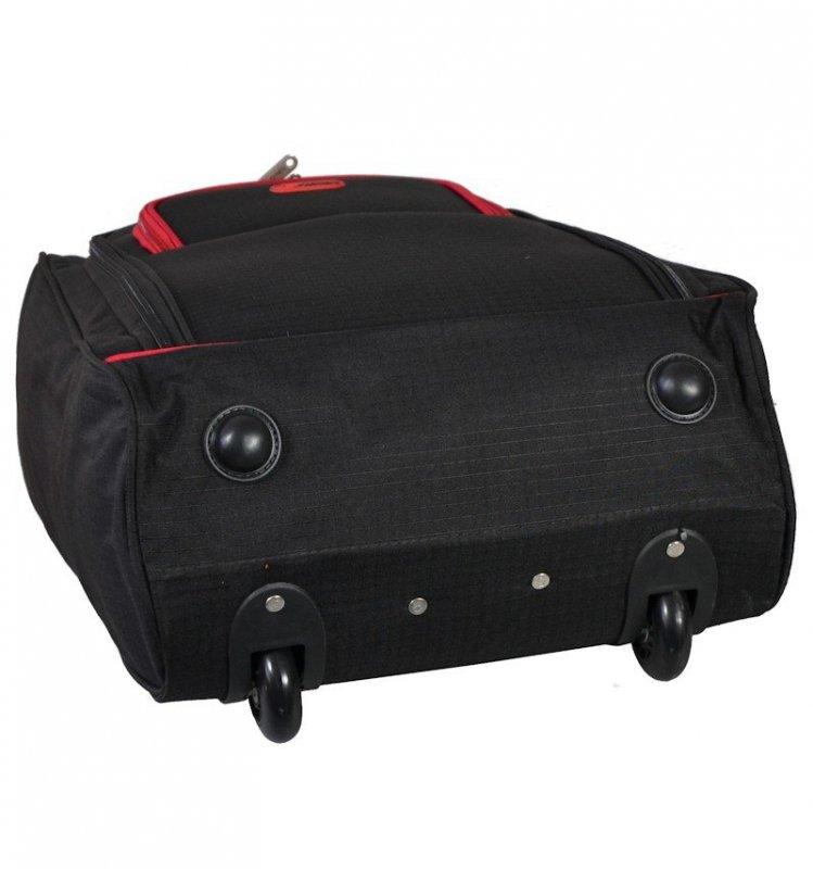 5 Cities T-830 S palubní kufr na 2 kolečkách 55 cm 1,65 kg černý