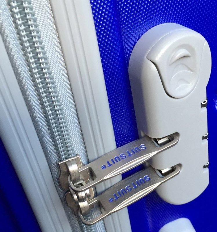 SUITSUIT Caretta M Dazzling Blue cestovní kufr na 4 kolečkách 65 cm