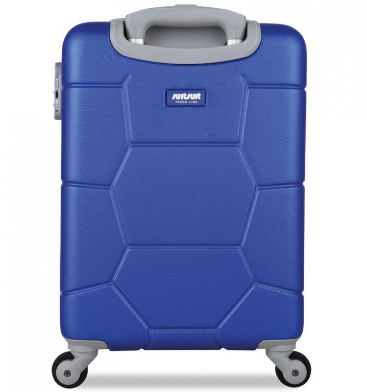 SUITSUIT Caretta S Dazzling Blue palubní kufr na 4 kolečkách 55 cm
