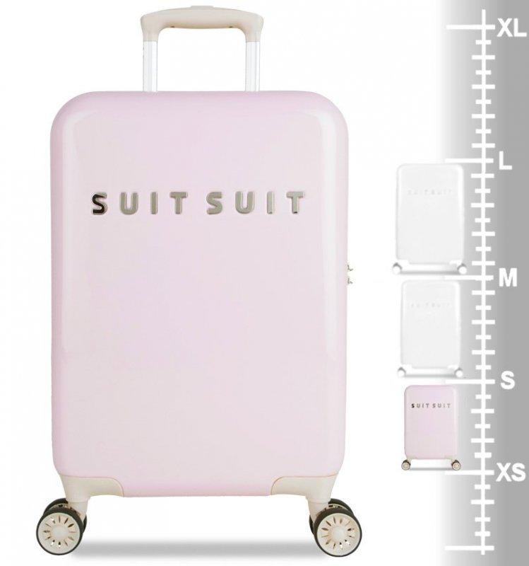 SUITSUIT Fabulous Fifties S Pink Dust palubní kufr na 4 kolečkách TSA 55 cm
