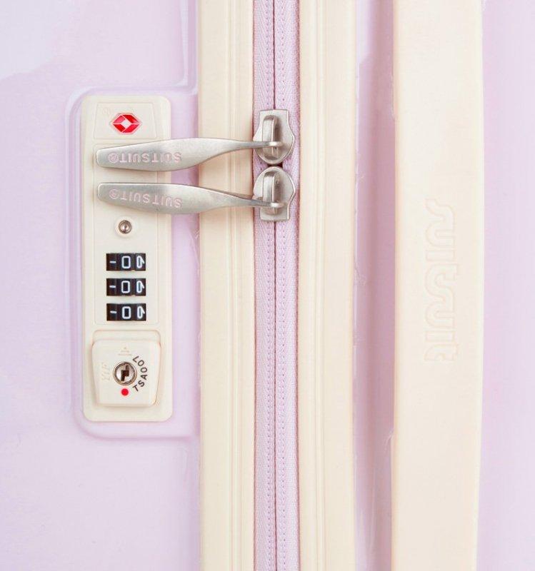 SUITSUIT Fabulous Fifties M Pink Dust cestovní kufr na 4 kolečkách TSA 67 cm
