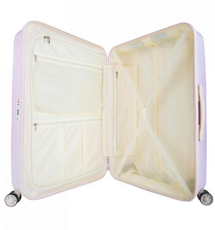 SUITSUIT Fabulous Fifties L Pink Dust cestovní kufr na 4 kolečkách TSA 77 cm