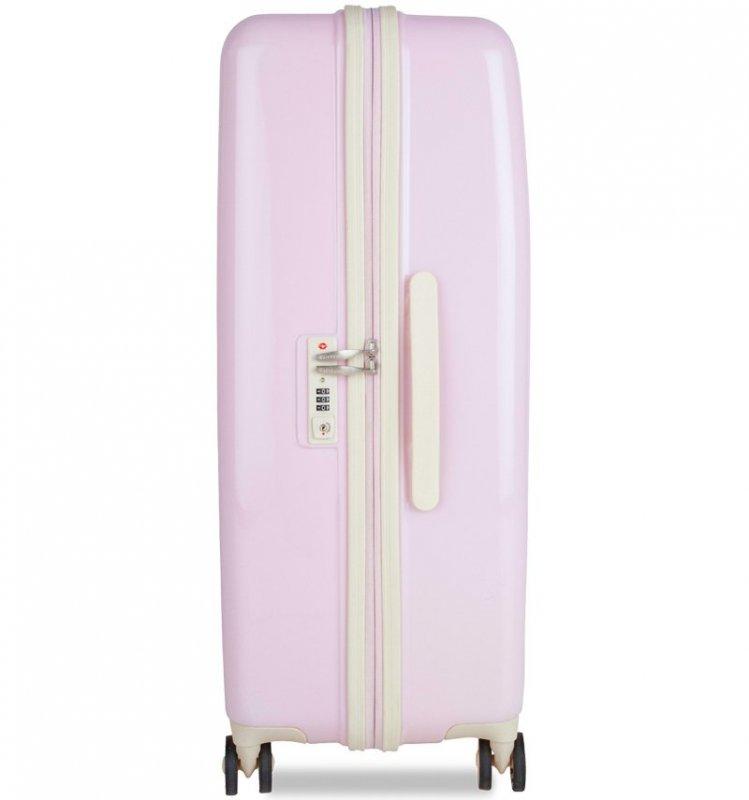 SUITSUIT Fabulous Fifties Pink Dust sada 3 cestovních kufrů TSA 77/67/55 cm