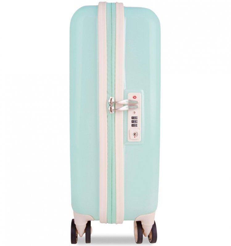 SUITSUIT Fabulous Fifties S Luminous Mint palubní kufr na 4 kolečkách TSA 55 cm