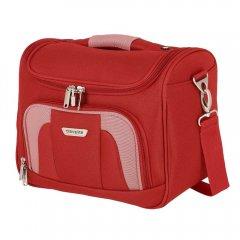 Travelite Orlando Beauty Case ultralehký kosmetický kufřík 19 l Red