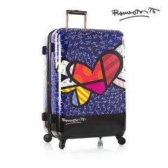 Heys Britto Heart with Wings L designový cestovní kufr na 4 kolečkách TSA 76 cm