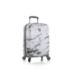 Heys Bianco S štýlový kufor do lietadla TSA 53 cm 52 l biely mramor