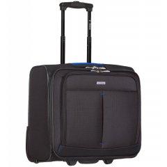 Azure Sirocco T-1103 Business příruční kufr na notebook 41 cm černá/modrá