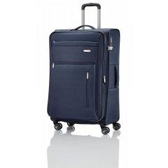 Travelite Capri 4w L cestovní kufr TSA 76 cm 98/111 l Navy