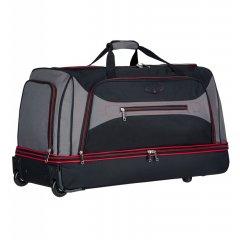 Azure Sirocco T-7554 L cestovná taška 101 l čierna/sivá/červená