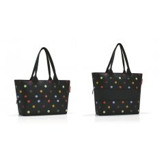 Reisenthel Shopper e1 elegantní rozšiřitelná kabelka 50 cm 12-18 l Dots
