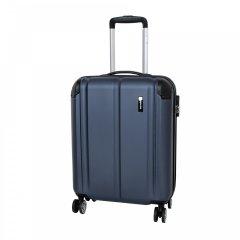 Travelite City 4w S palubní cestovní kufr 55x40x20 cm 40 l Navy