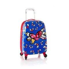 Heys Britto Tween 4w 3D dětský cestovní kufr 51 cm Flying Hearts