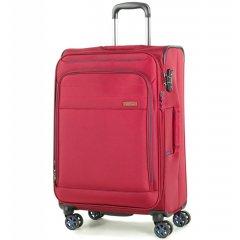 ROCK TR-0162 Apollo M cestovní kufr TSA 67 cm 58/67 l červený