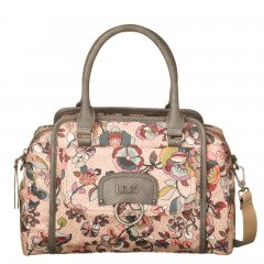 LiLiÓ Biba S Handbag květovaná kabelka 28 cm Nougat
