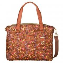 LiLiÓ Ditsy S Handbag Bright Sienna malá květovaná kabelka 27,5x10x22 cm