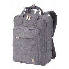 "Titan Barbara Backpack dámský batoh na 14"" notebook 12 l šedý"