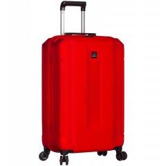 Azure Sirocco T-1177 S palubný kufor do lietadla TSA 58 cm Red