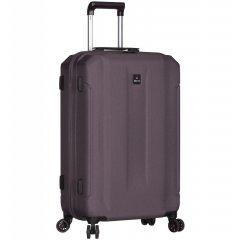 Azure Sirocco T-1177 M cestovní kufr TSA 71 cm 61 l Grey