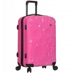 Azure Sirocco T-1194 M cestovný kufor TSA 67 cm 60 l Pink