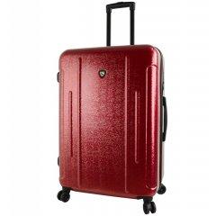 Mia Toro M1239 Manta L Burgundy cestovní kufr na 4 kolečkách TSA 77 cm 97-121 l