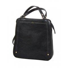 Katana 66806 dámský kožený batůžek 4,5 l Noir
