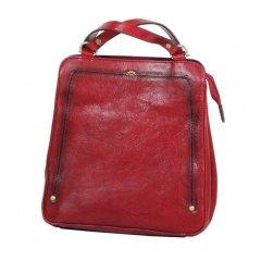 Katana 66806 dámský kožený batůžek 4,5 l Rouge