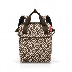 Reisenthel Allrounder R cestovní batoh/taška 12 l Diamonds Mocha