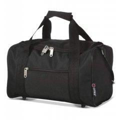 5 Cities 611 palubní cestovní taška Ryanair 40x20x25 cm černá