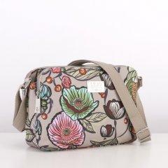 LiLiÓ Urban Peony S Shoulder Bag malá kabelka 26x18x7,5 cm Café au Lait