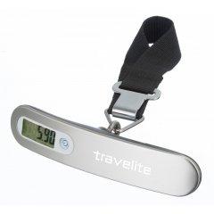 Travelite Luggage Scale cestovní digitální váha na zavazadla stříbrná