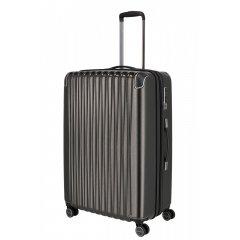Titan Barbara Glint L dámský cestovní kufr TSA 77 cm 100 l Anthracite Metallic