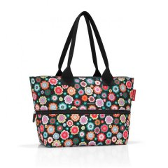 Reisenthel Shopper M kabelka pro každodenní použití 51 cm Happy Flowers