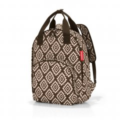 Reisenthel Easyfitbag městský/cestovní dámský batoh 15 l Diamonds Mocha