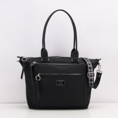 LiLiÓ Solid lilió M Carry All kabelka na všechno 32 cm Black