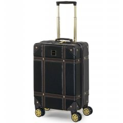 ROCK TR-0193 Vintage S palubný kufor do lietadla TSA 55 cm Black