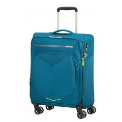 American Tourister Summerfunk 4w palubní kufr TSA 55 cm 43/46 l Teal