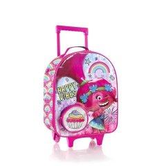Heys Kids Soft 2w dětský cestovní kufr 47 cm Trolls 2