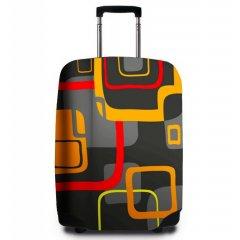 REAbags 9045 univerzální obal na cestovní kufr 60-80 cm Modern Retro