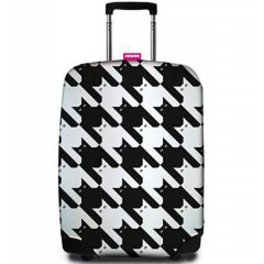 REAbags 9069 univerzální obal na cestovní kufr 60-80 cm Pied de Chat