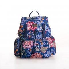 LiLiÓ Folkloric Fun Backpack městský dámský batoh 10,5 l Slate Blue