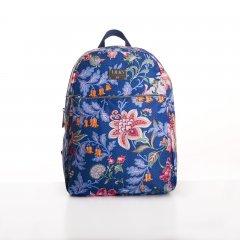 LiLiÓ Folkloric Fun M Backpack městský dámský batoh 7,1 l Slate Blue