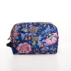 LiLiÓ Folkloric Fun Pocket Cosmetic Bag kosmetická taštička 26 cm Slate Blue