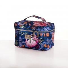 LiLiÓ Folkloric Fun M Beauty Case cestovní necesér 22 cm Slate Blue
