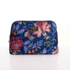 LiLiÓ Folkloric Fun M Toiletry Bag květovaná toaletní taštička 25 cm Slate Blue
