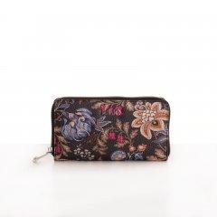 LiLiÓ Folkloric Fun L Zip Wallet dámská peněženka 19,5 cm Dune