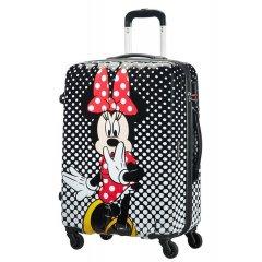 American Tourister Disney cestovní kufr 65 cm Minnie Mouse Polka Dot